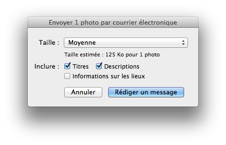 L'interface de Mail (1)