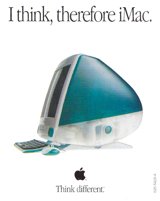 I think, therefore iMac