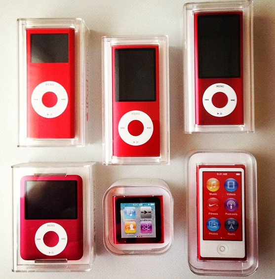iPod nano (PRODUCT)RED