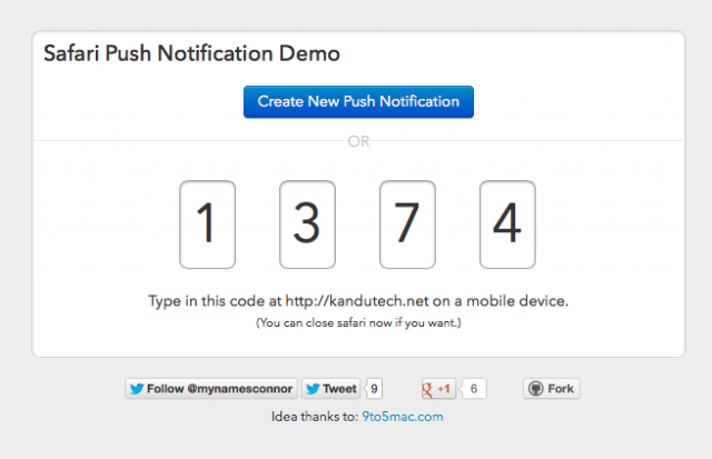 Envoyer une notification