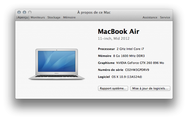 MacBook Air avec une grosse GeForce