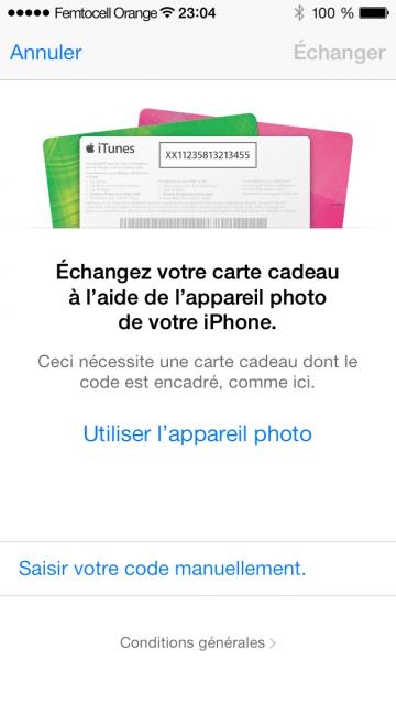 Utiliser l'appareil photo
