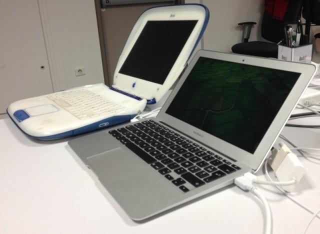 iBook vs. MacBook Air