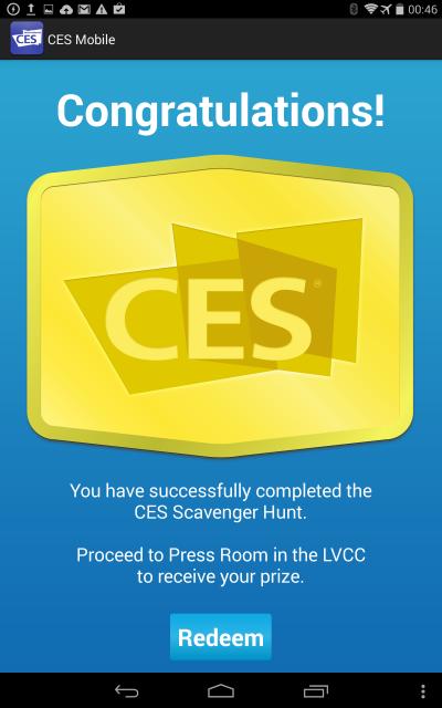 j'ai tout gagné (sous Android)