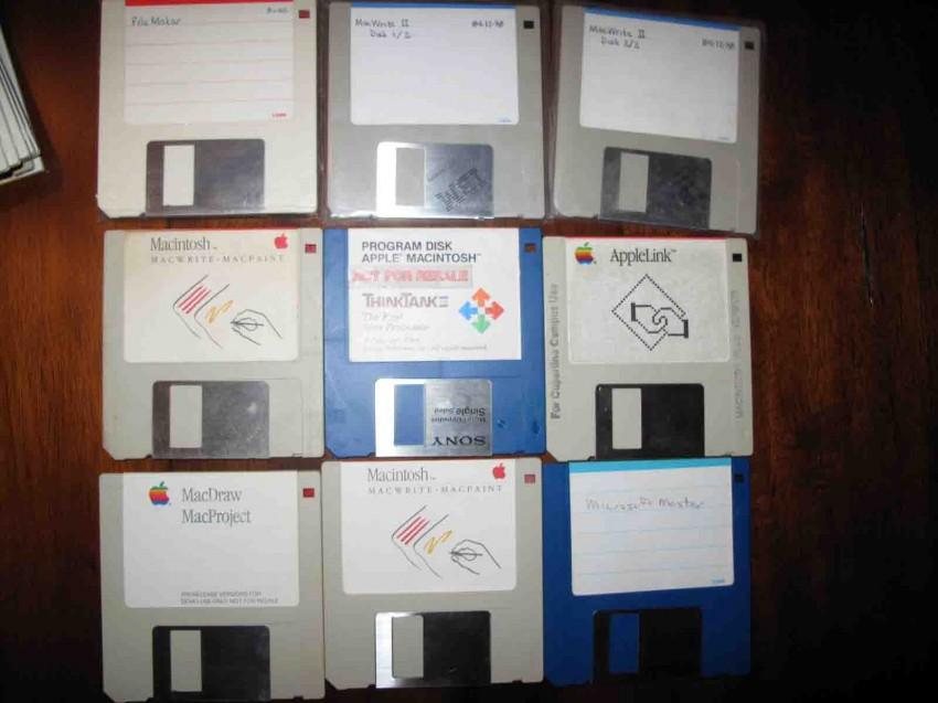 Quelques disquettes