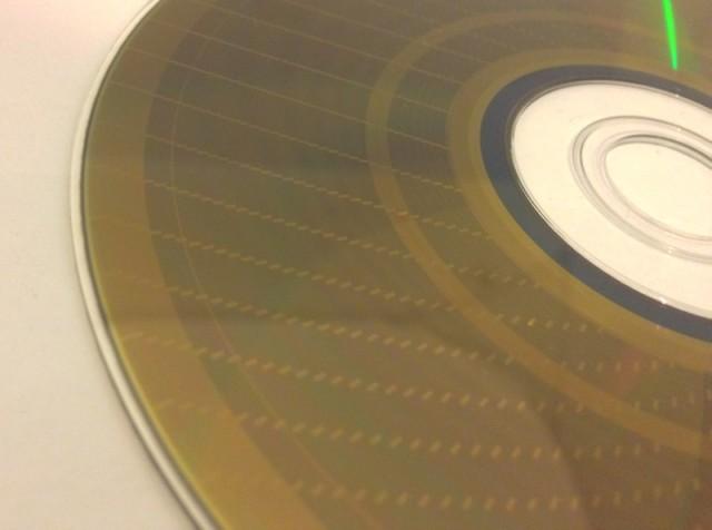 """Un DVD-RAM et ses """"sillons"""""""