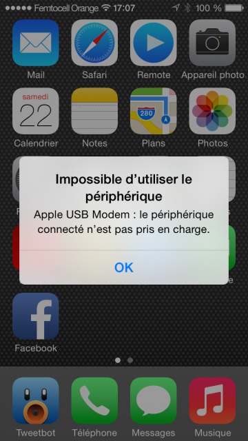 Sur iOS 64 bits