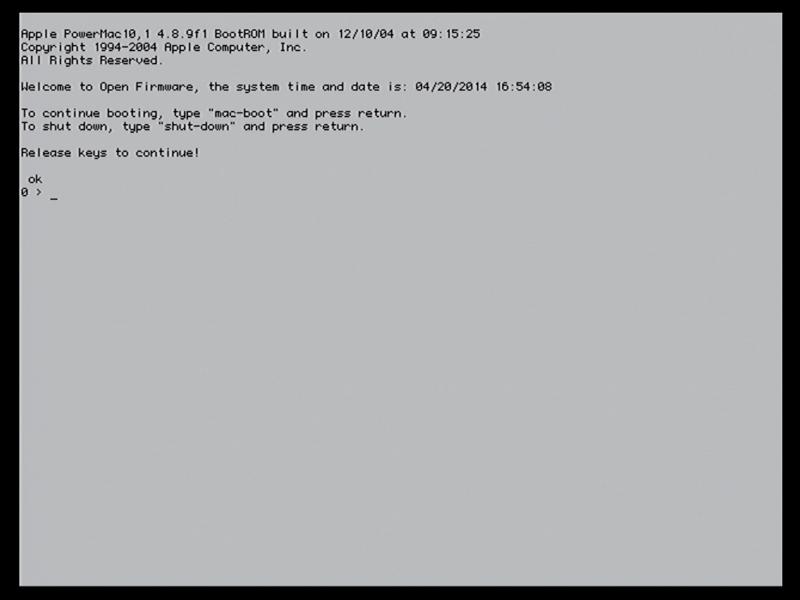Booter un Mac PowerPC en USB | Le journal du lapin