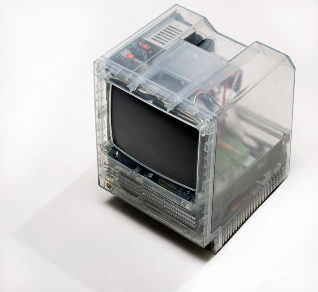 Un MAC SE transparent