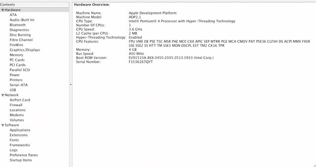 ADP et Pentium 4