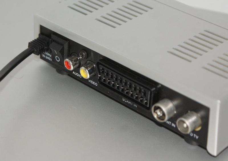 L'arrière du modulateur