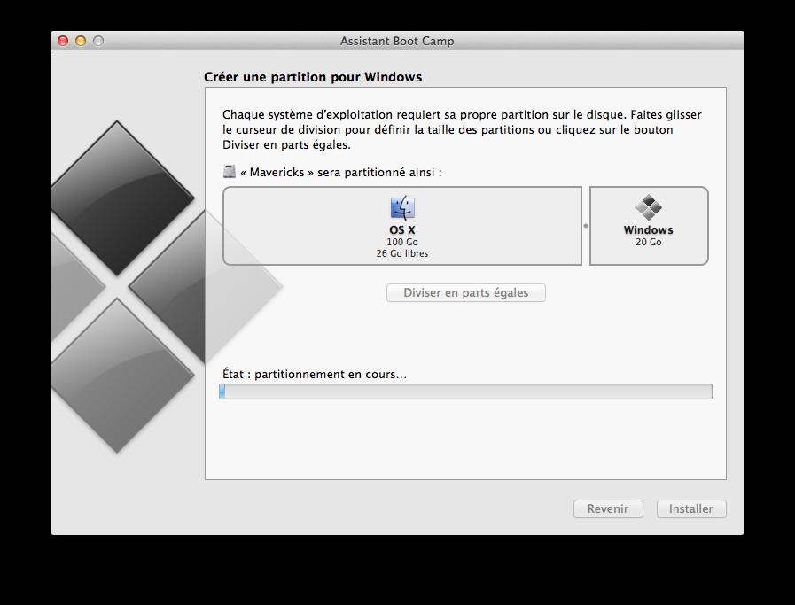 installer windows sur disque dur externe