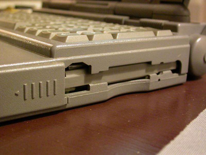 Le lecteur de disquettes