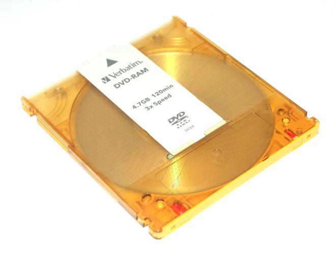 Un DVD-RAM