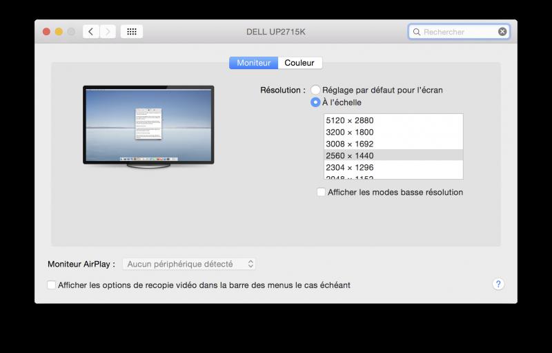 Sur un Mac Pro