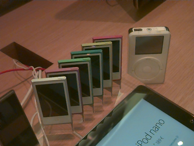 iPod et iPod (14 ans plus tard)