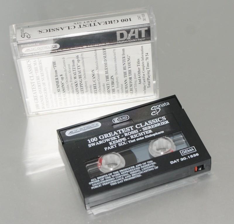 Une cassette DAT