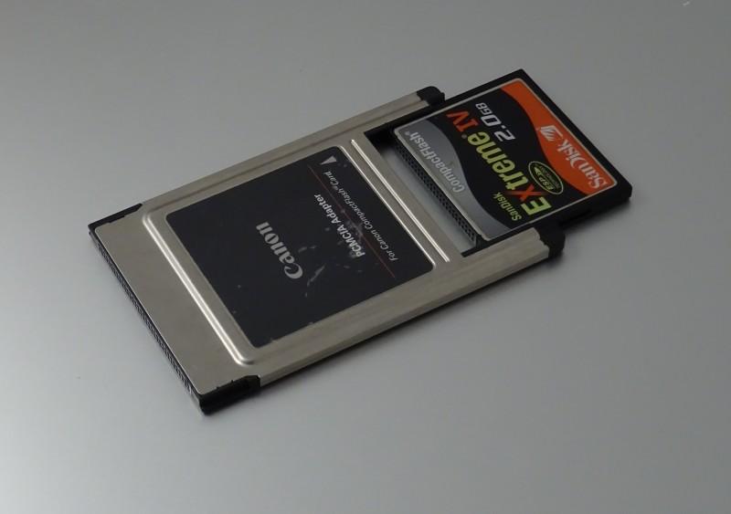 PCMCIA et Compact Flash
