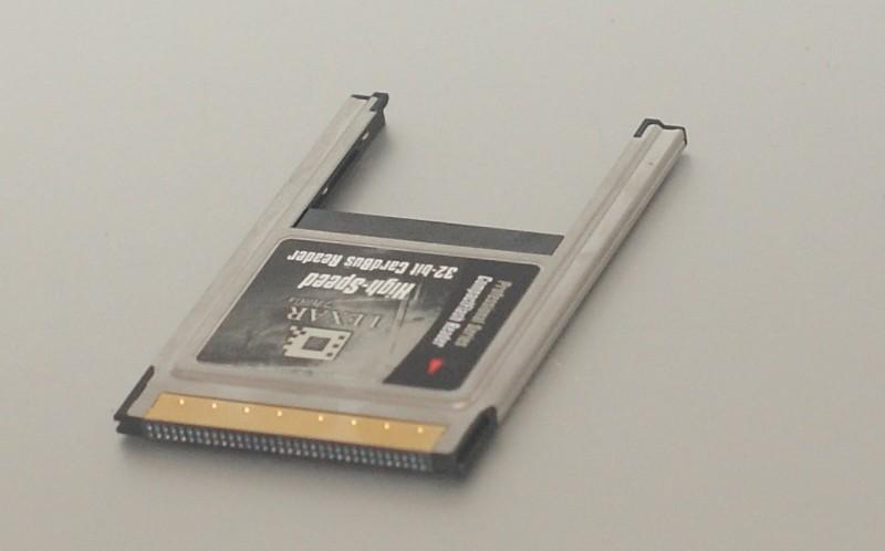 Un modèle CardBus