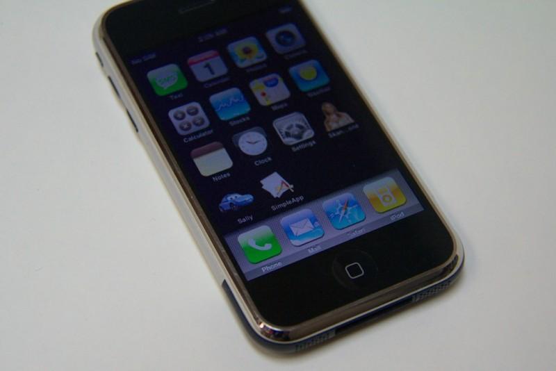 Sur un iPhone
