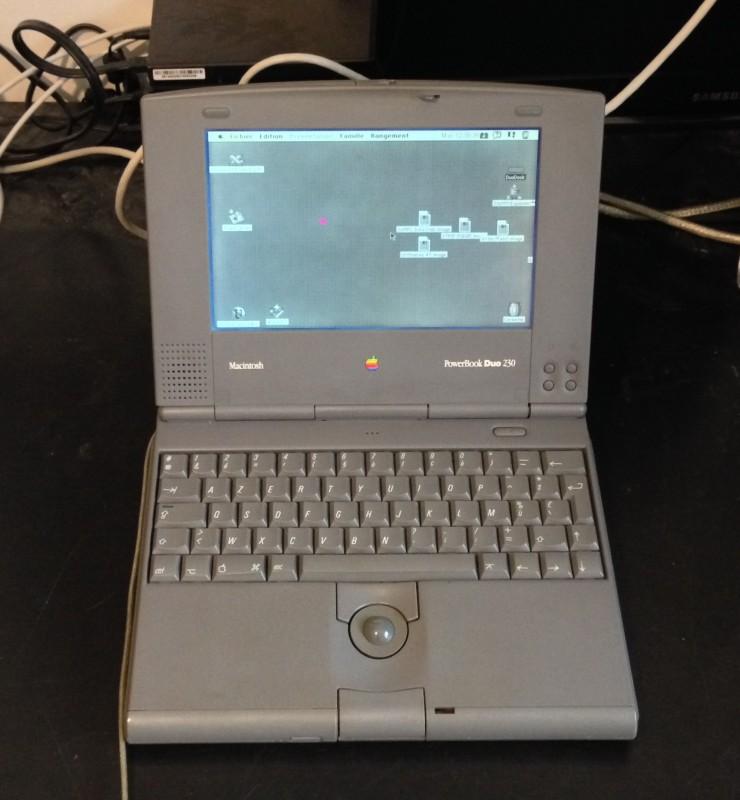 Le PowerBook (et ses pixels roses)