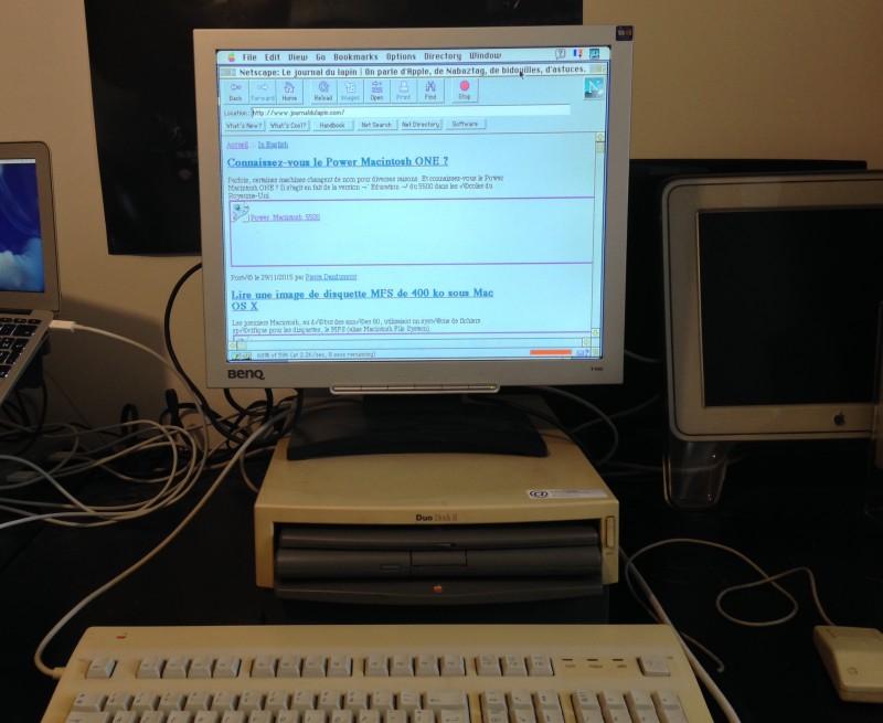 Sur Internet (en Ethernet)