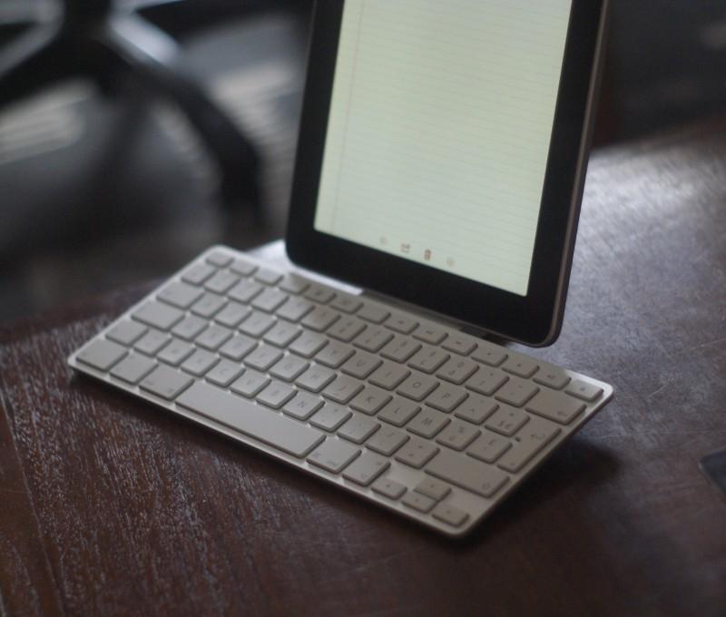 Avec un iPad