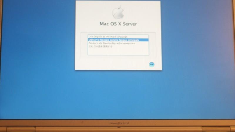 Sur un PowerBook G4