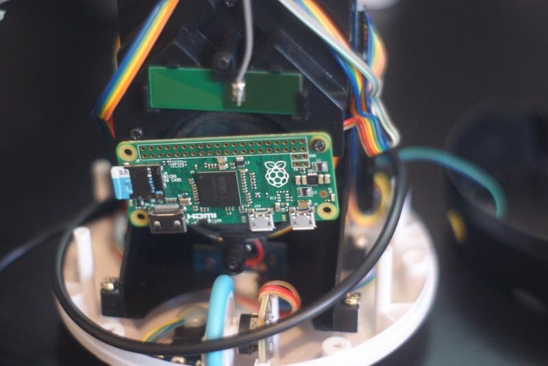 Le Raspberry Pi Zero s'intègre bien