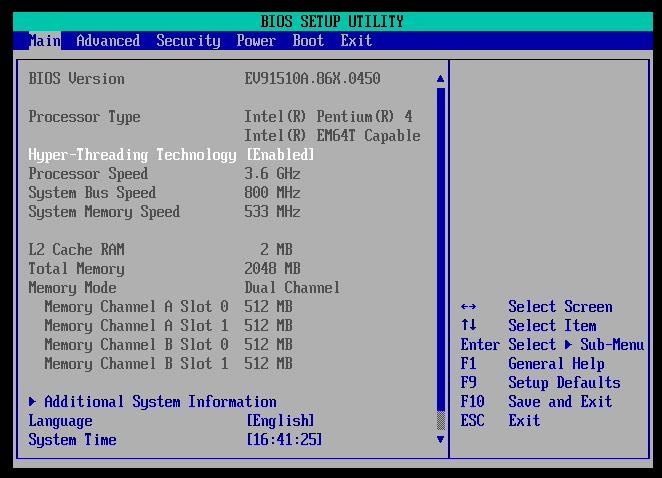 Le Pentium 4