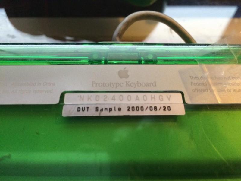 Apple Pro Keyboard vert (DVT)