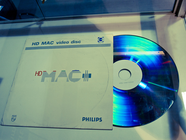 Un LaserDisc HD