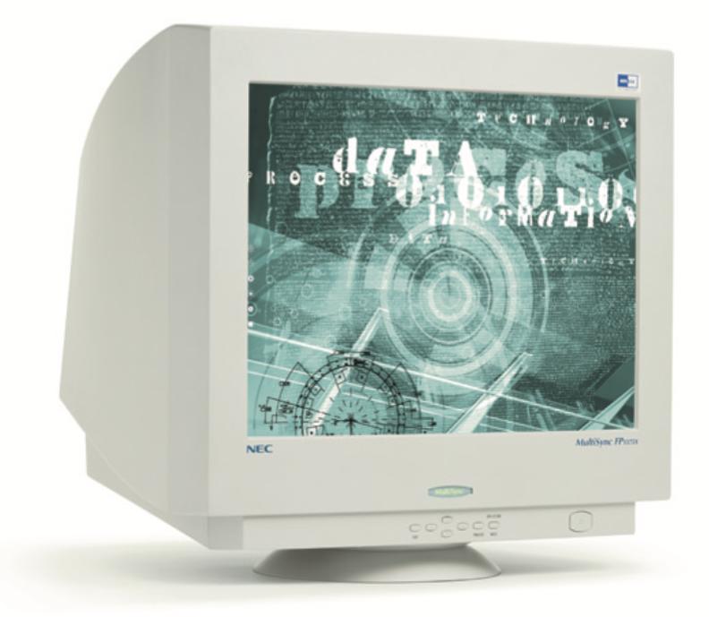 Un écran NEC
