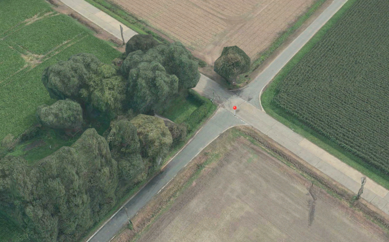 Sur Apple Maps (en 3D)