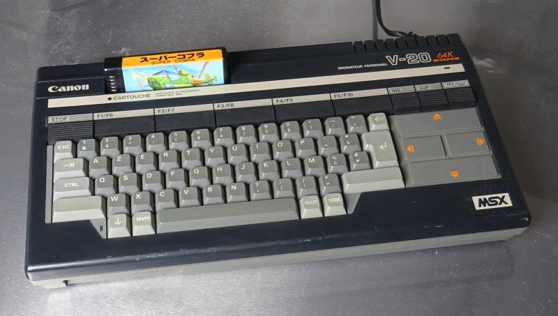 Un MSX Canon (prêté par un lecteur)