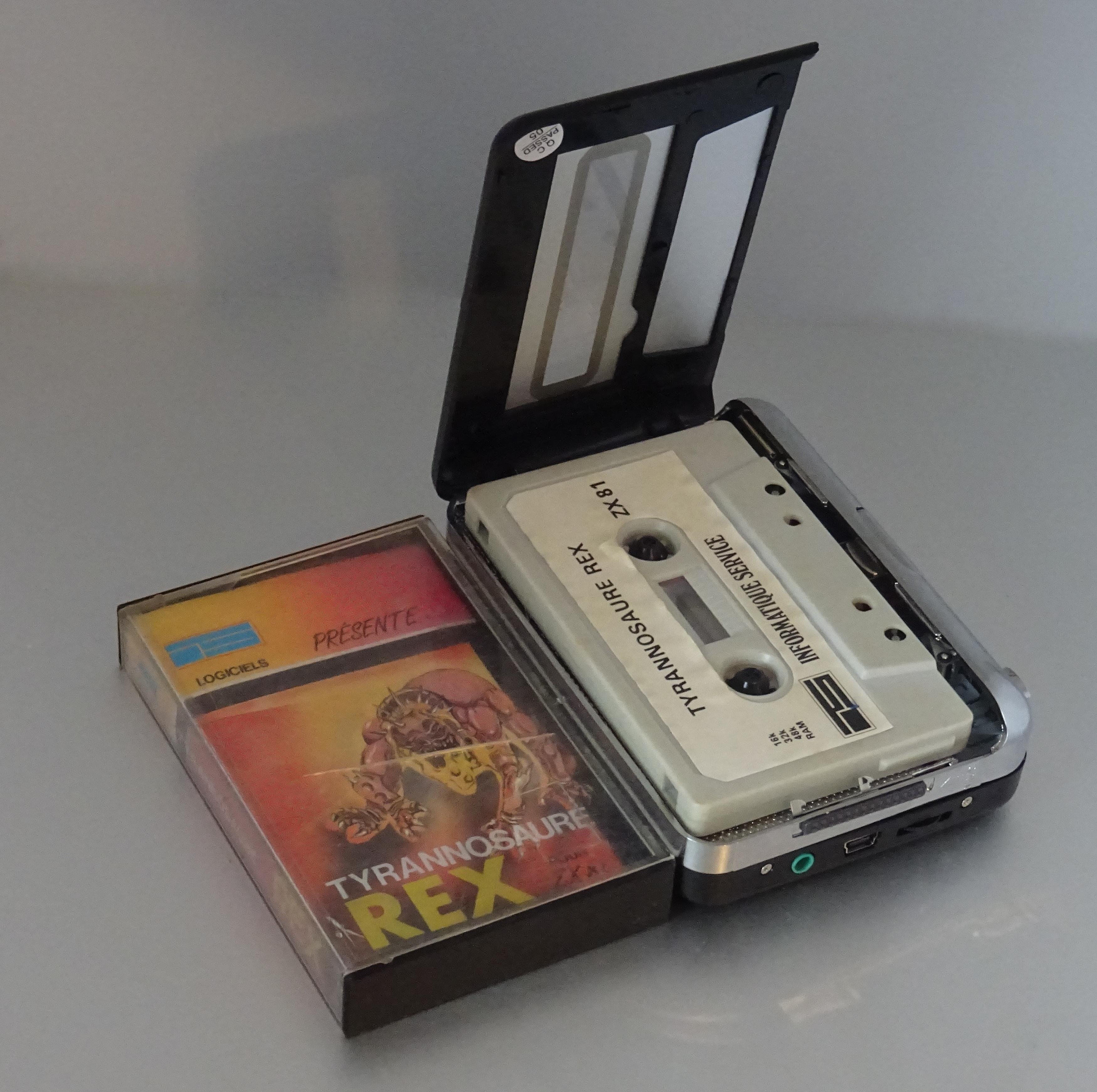 un jeu vid o sur cassette le journal du lapin. Black Bedroom Furniture Sets. Home Design Ideas