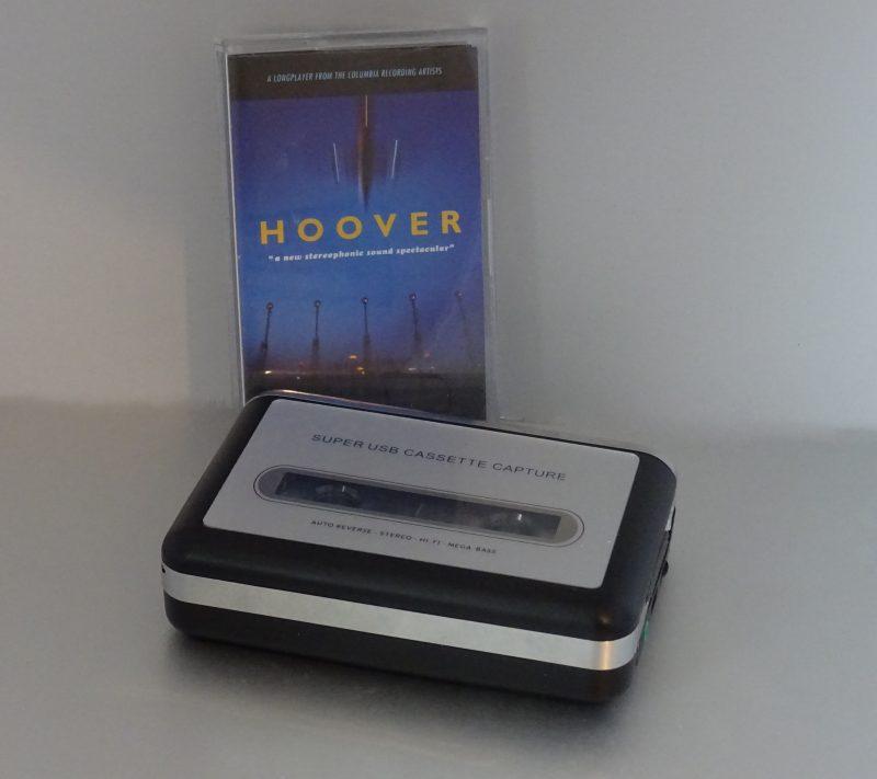 Avec une cassette de mon groupe préféré