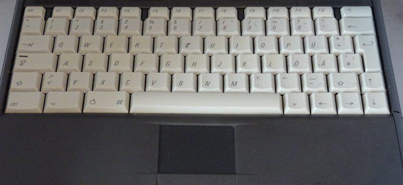 Le clavier gris