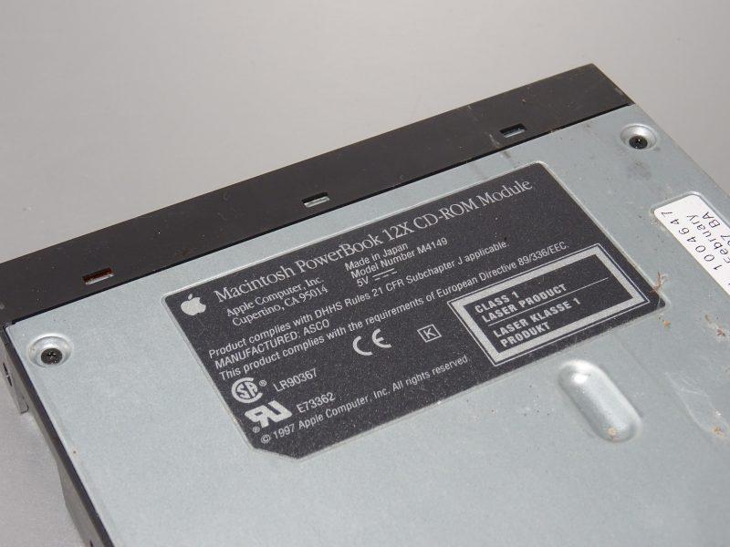 Un lecteur CD-ROM 12x
