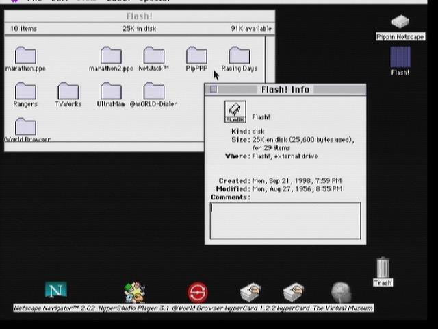 La mémoire flash de 128 ko