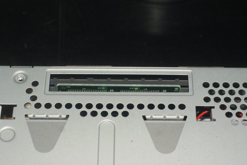 Le slot pour la ROM