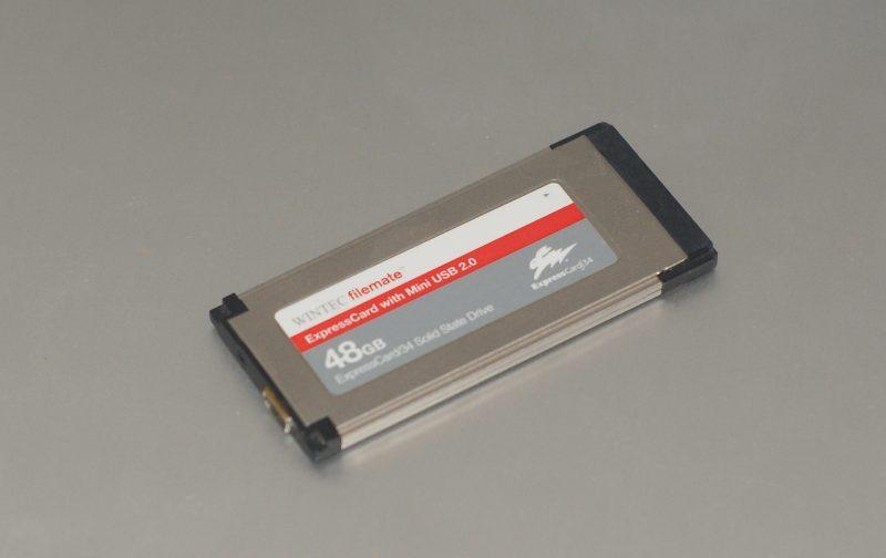 Le SSD et sa prise USB