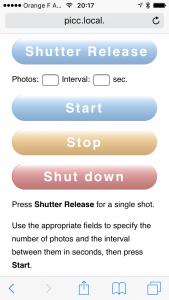 L'interface iPhone