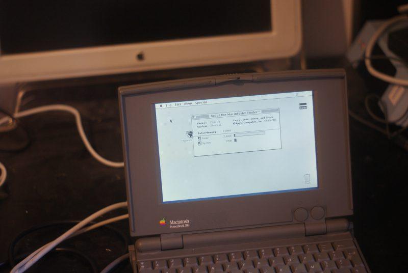 Le PowerBook 100