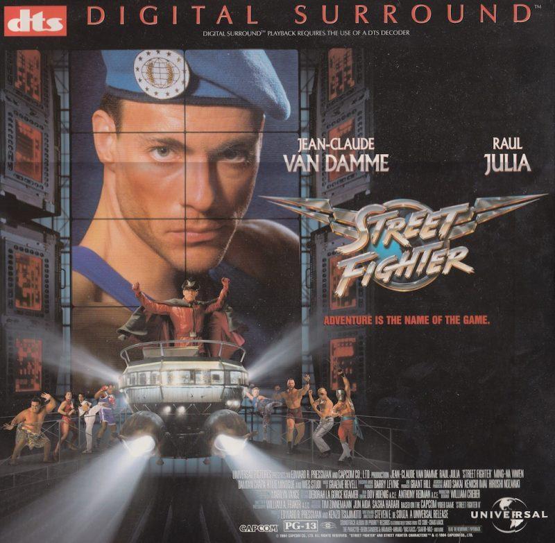 Un LaserDisc DTS
