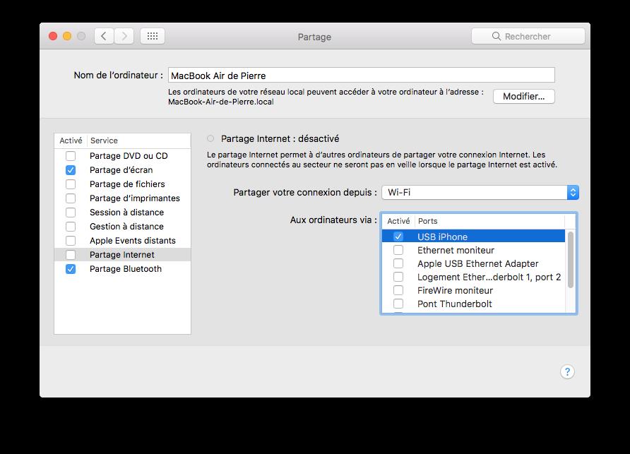 Partager La Connexion D Un Mac Vers Un Appareil Ios Le Journal Du