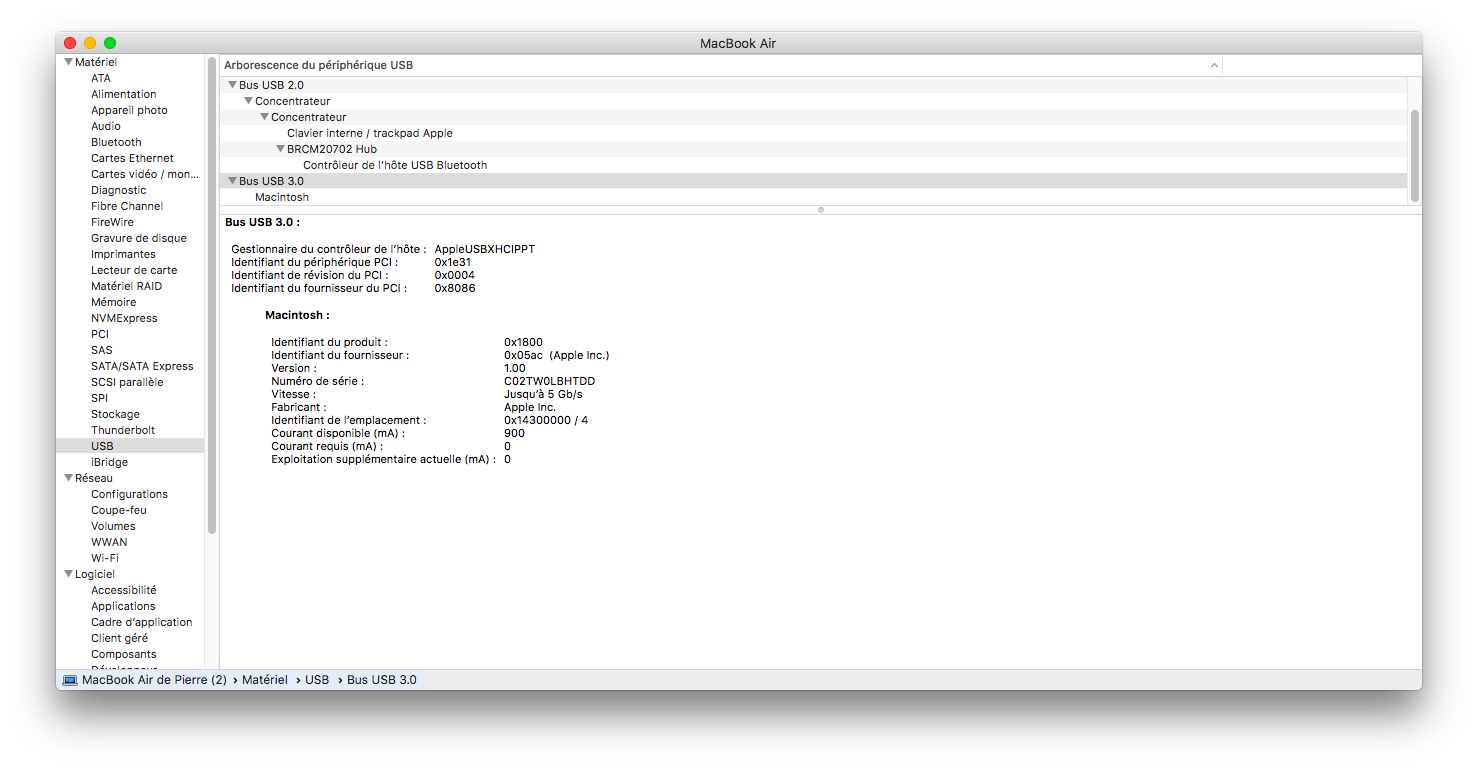 Le Target Disk Mode marche en USB-C, en Thunderbolt et en