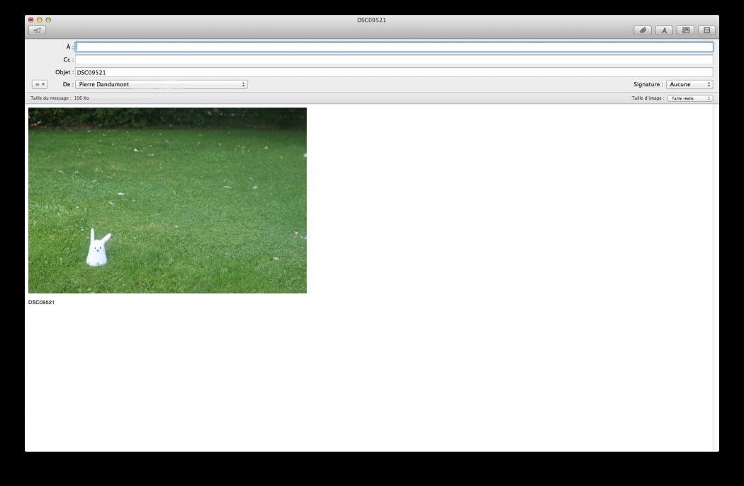 L'interface de Mail (2)