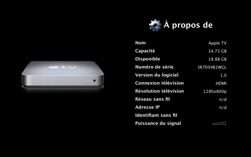 Apple TV sur MacBook