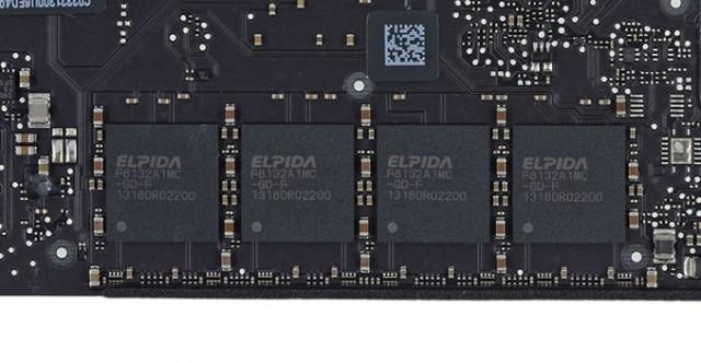 La mémoire LPDDR3 (iFixit)
